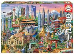Asia Landmarks Asia Jigsaw Puzzle