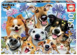 Fun In The Sun Selfie Dogs Jigsaw Puzzle