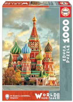 St. Basil's Cathedral, Moscow Russia Jigsaw Puzzle