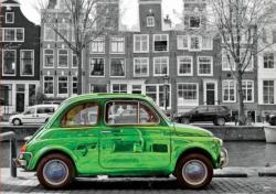 Car In Amsterdam Amsterdam Jigsaw Puzzle
