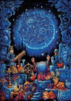 Astrologer 2 Zodiac Jigsaw Puzzle