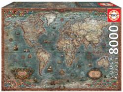 Historical World Map - Scratch and Dent Maps / Geography 2000 and above