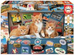 Travelling Kittens Cats Children's Puzzles