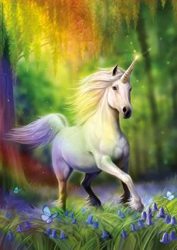 Chasing The Rainbow Unicorns Jigsaw Puzzle