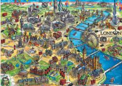 London Map London Jigsaw Puzzle