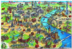 London Map London Jigsaw Puzzle