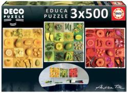 Exotic Fruits And Flowers, Andrea Tilk Food and Drink Multi-Pack