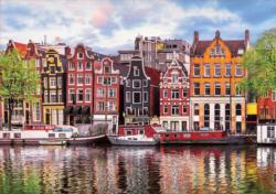 Dancing Houses, Amsterdam Amsterdam Jigsaw Puzzle