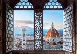 Views Of Florence Italy Jigsaw Puzzle