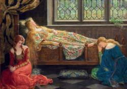 The Sleeping Beauty, John Collier People Jigsaw Puzzle