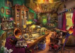 Antique Attic Domestic Scene Jigsaw Puzzle