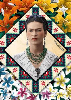 Frida Kahlo Famous People Jigsaw Puzzle