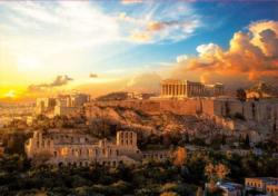 Acropolis Of Athens Greece Jigsaw Puzzle