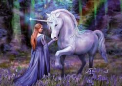 Bluebell Woods Unicorns Jigsaw Puzzle