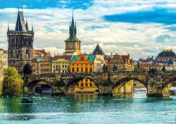 Views Of Prague - Scratch and Dent Europe Jigsaw Puzzle