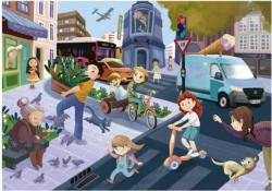 In The City Cities Jigsaw Puzzle