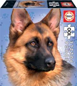 German Shepard Dogs Jigsaw Puzzle