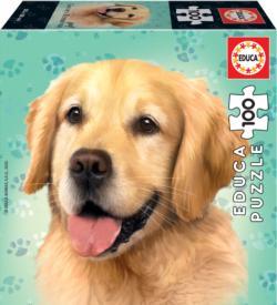 Golden Retriever Dogs Jigsaw Puzzle