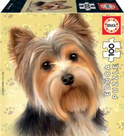 Yorkshire Terrier Dogs Jigsaw Puzzle