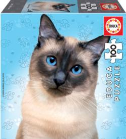 Siamese Cats Jigsaw Puzzle