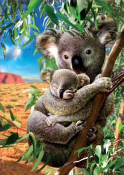 Koala and Cub Animals Jigsaw Puzzle