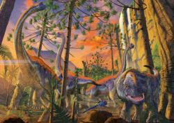 Curious Dinosaurs Jigsaw Puzzle