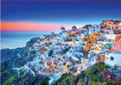 Santorini Seascape / Coastal Living Jigsaw Puzzle