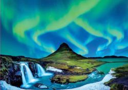 Aurora Borealis, Iceland Nature Jigsaw Puzzle