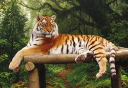 Majestic Tiger Tigers Jigsaw Puzzle