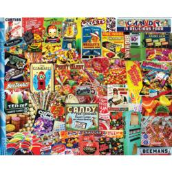 Penny Candy Collage Jigsaw Puzzle