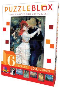 Puzzle Blox - Fine Art Fine Art Puzzle Cubes