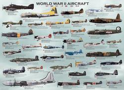 World War II Aircraft Military Jigsaw Puzzle