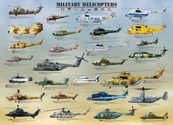 Military Helicopters Pattern / Assortment Jigsaw Puzzle