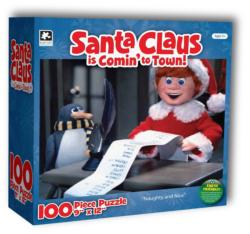 Naughty and Nice! (Santa Claus is Comin' to Town) Movies / Books / TV Jigsaw Puzzle