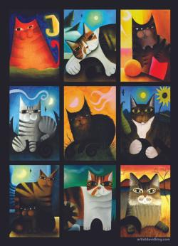 Pic-cat-so Collage Collage Jigsaw Puzzle