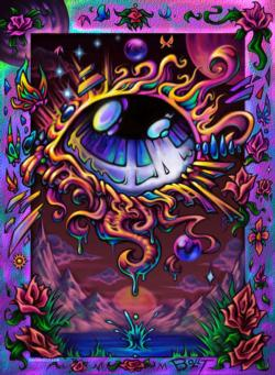 Tears and the Mind's Eye Graphics / Illustration Jigsaw Puzzle