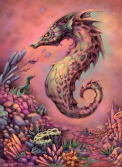 Seahorse Graphics / Illustration Jigsaw Puzzle