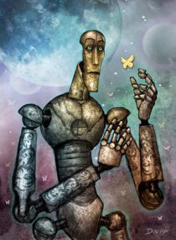 Robot Love Robots Jigsaw Puzzle