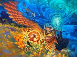Starkblast Owl Jigsaw Puzzle