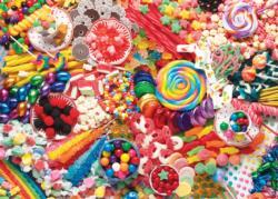 Sweet Satisfaction Pattern / Assortment Jigsaw Puzzle