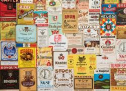 Vintage Drinks Adult Beverages Jigsaw Puzzle
