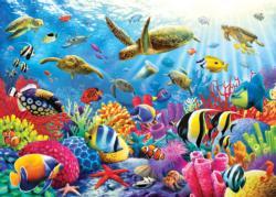 Ocean Beauty Turtles Jigsaw Puzzle