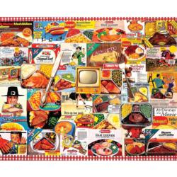 TV Dinners Collage Jigsaw Puzzle