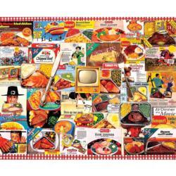 TV Dinners Nostalgic / Retro Jigsaw Puzzle