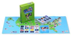 Flag Frenzy USA Maps Card Game