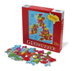 UK and Ireland GeoPuzzle Geography Jigsaw Puzzle