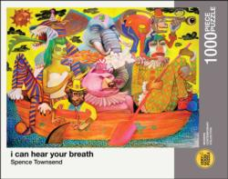 i can hear your breath Carnival Jigsaw Puzzle