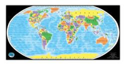 The Global Puzzle Maps / Geography Jigsaw Puzzle