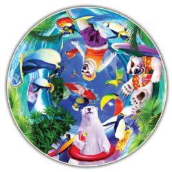 Polar Chill (Kids' Round Table Puzzle) Children's Puzzles