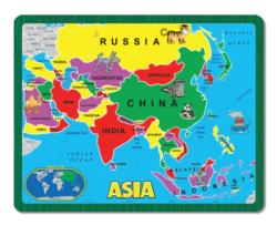 Asia (The Continent Puzzle) Geography Children's Puzzles